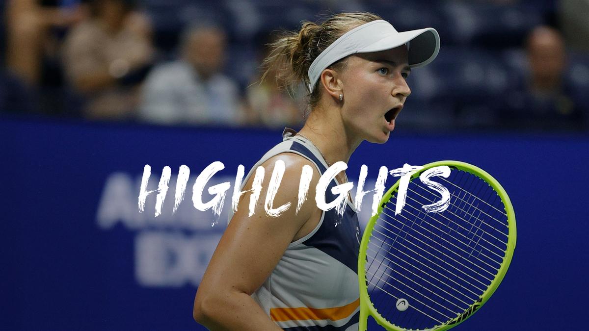 US Open: Day 7 Highlights Krejcikova v Muguruza