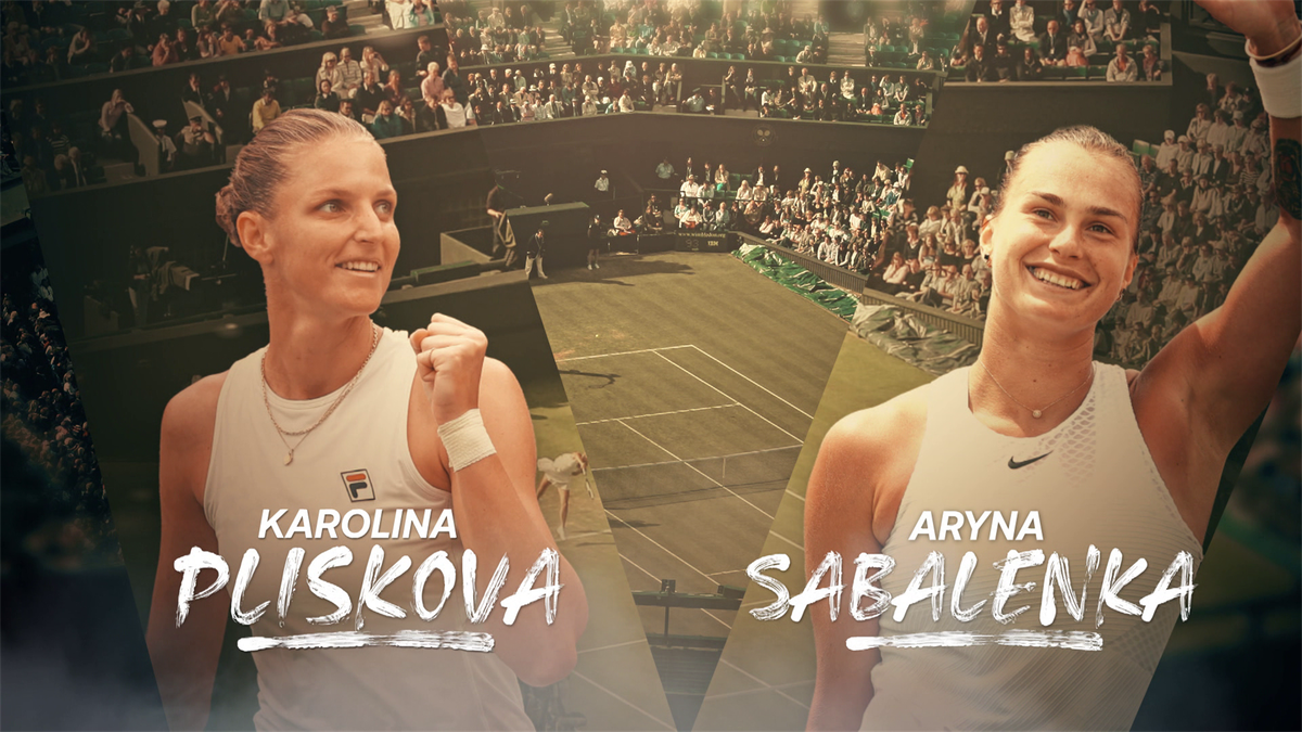 Wimbledon: Feature Sabalenka v Pliskova