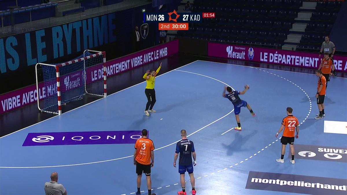 Un penalty à la dernière seconde pour un nul chanceux : Montpellier a eu chaud devant Schaffhausen