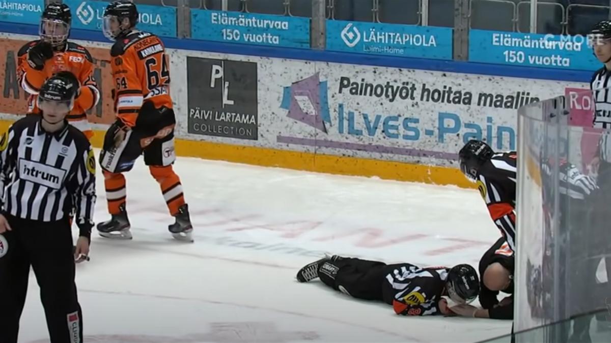 Травма финского судьи