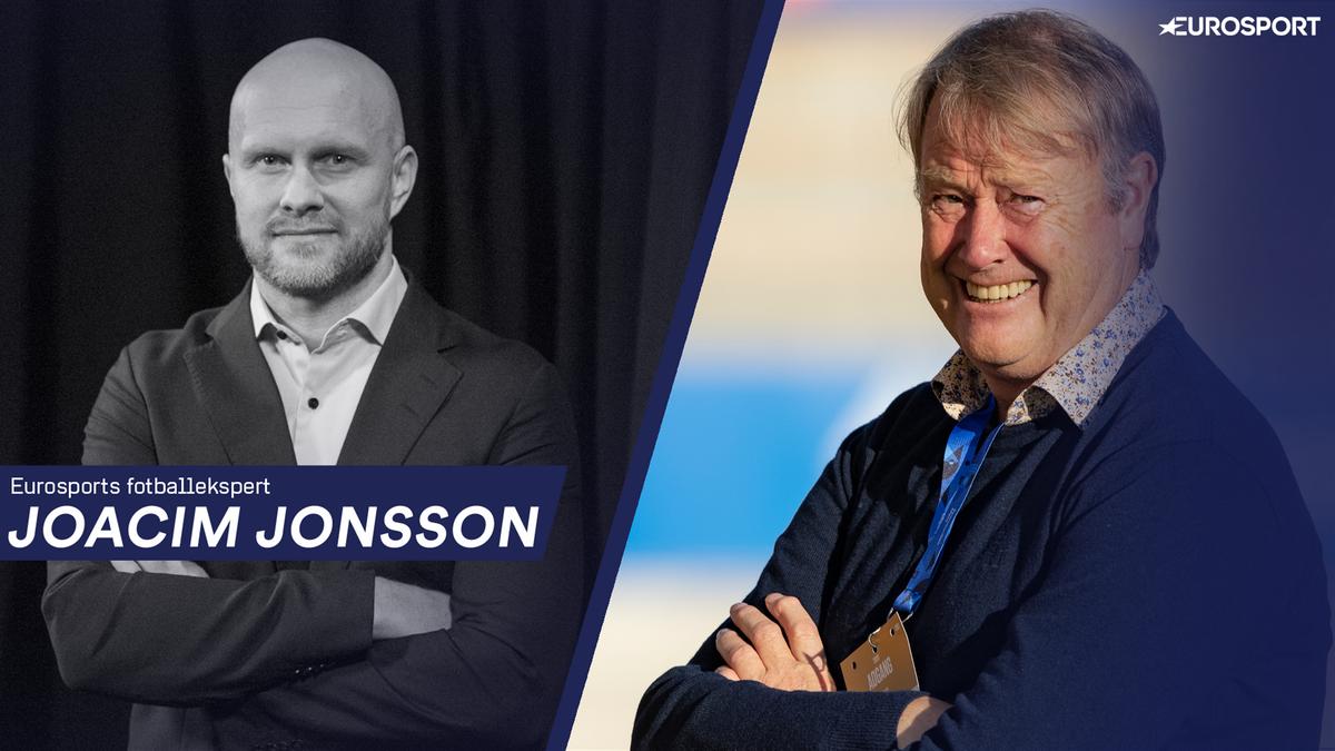 Joacim Jonsson og Åge Hareide