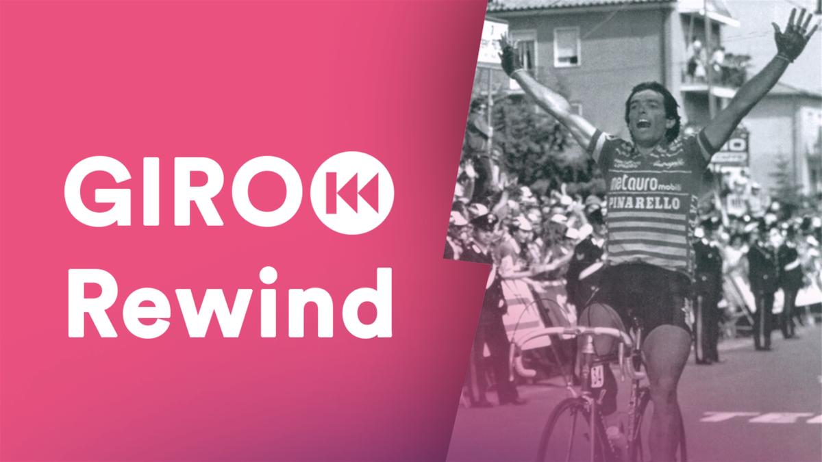Riccardo Magrini al Giro d'Italia