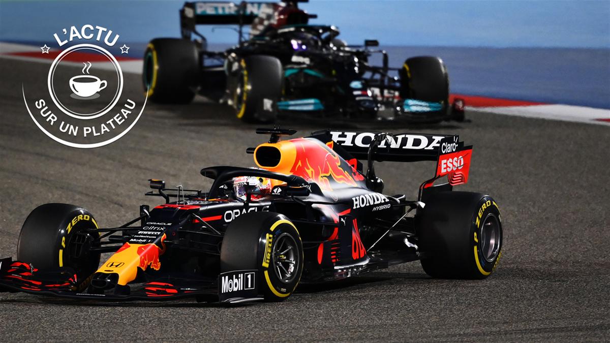 Actu sur un platau - Max Verstappen devant Lewis Hamilton