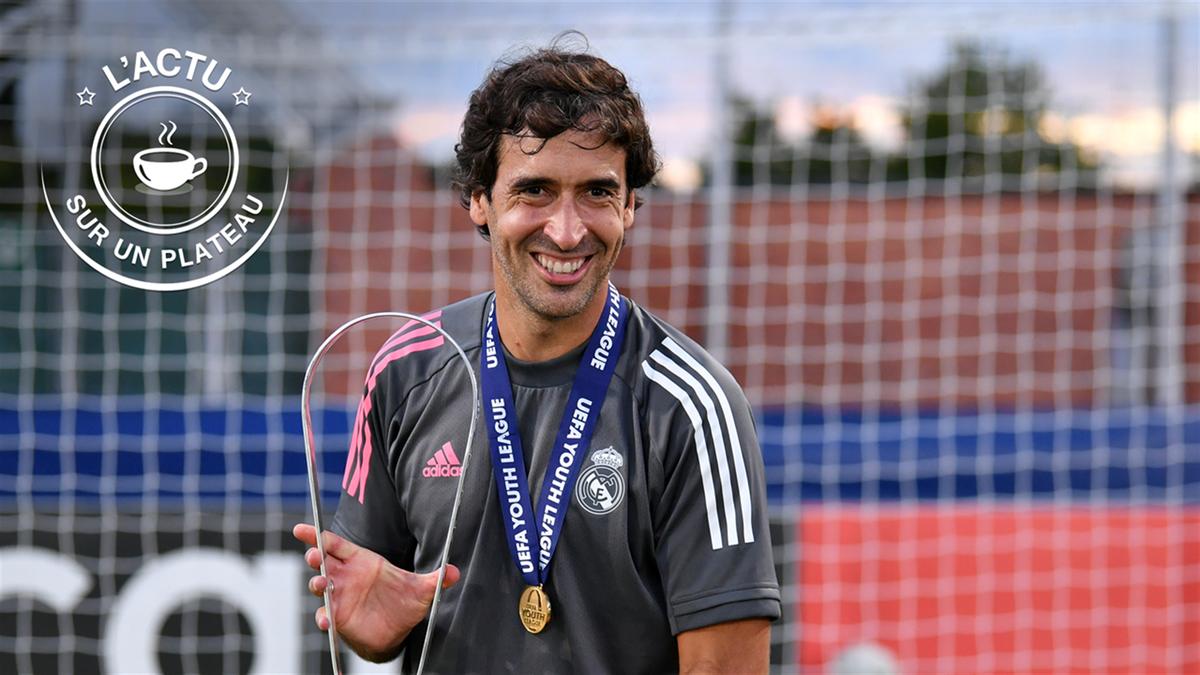 Actu sur un plateau - Raul, remplaçant naturel de Zidane ?
