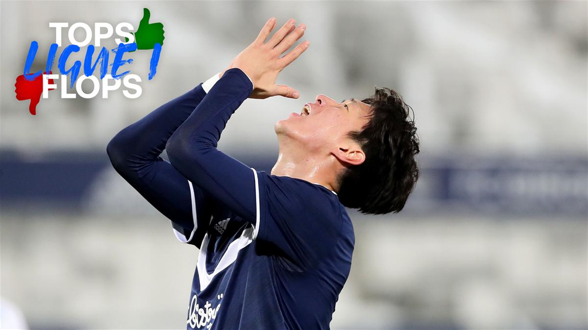 Les tops et flops de la 31e journée - les Girondins de Bordeaux de Hwang Ui-Jo vont mal