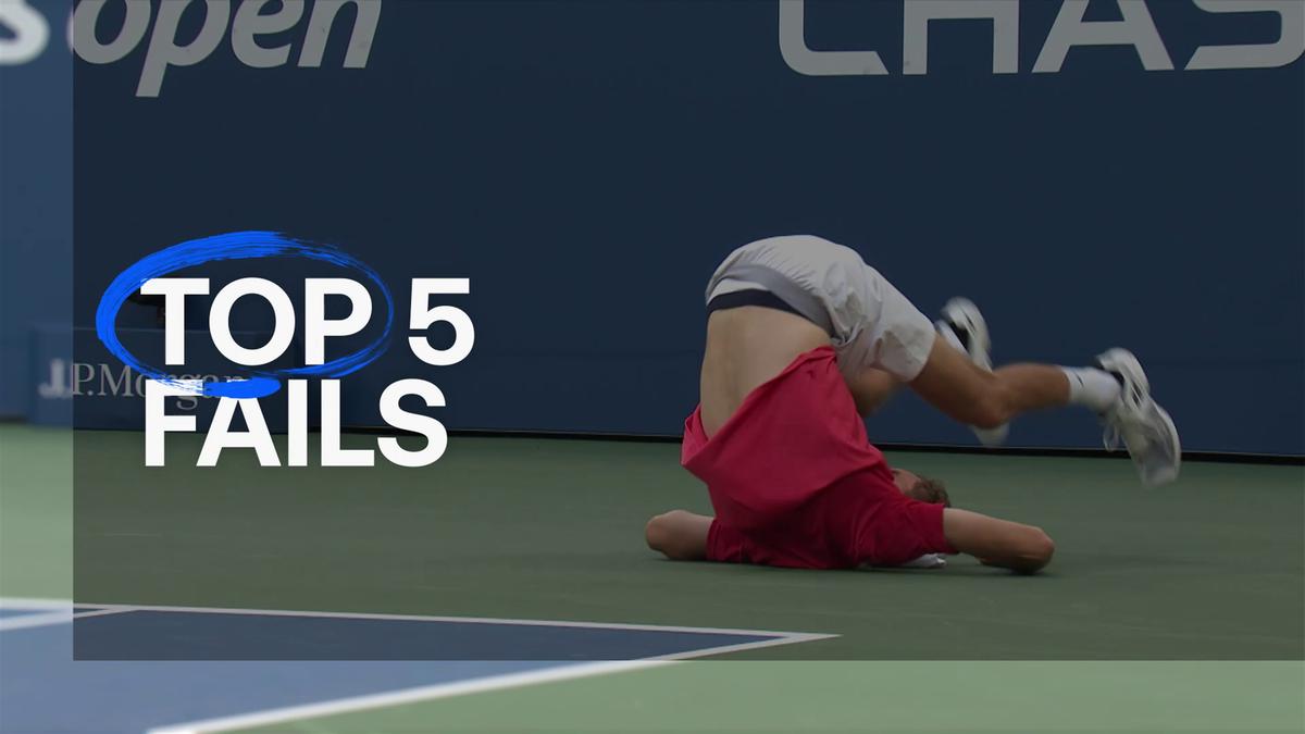 US Open: Top 5 fails