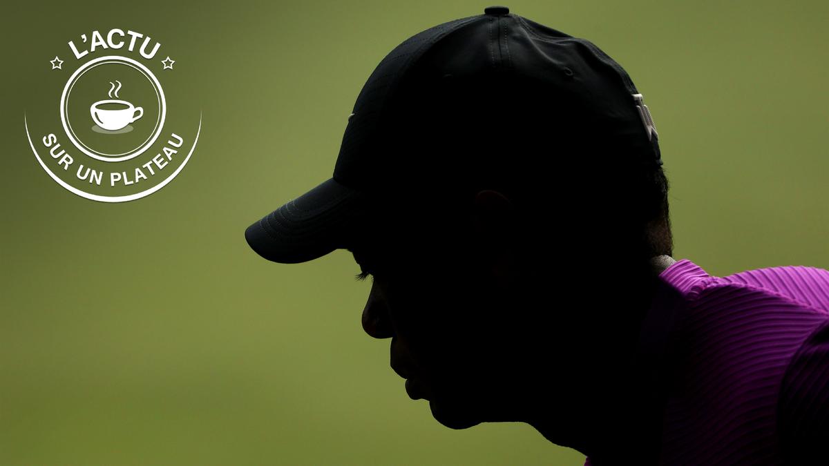 L'actu sur un plateau de mardi avec Tiger Woods
