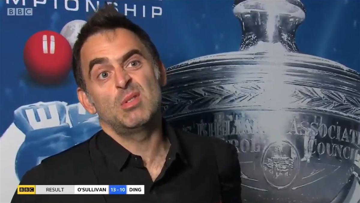 """Ronnie O'Sullivan, ironii """"grele"""" pentru tinerii jucători de snooker"""
