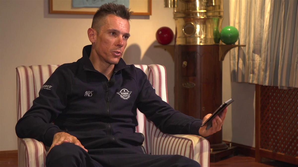 Vuelta : Report about Philippe Gilbert