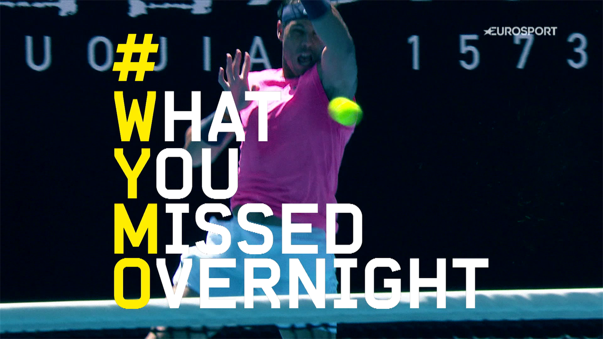 Australian Open : What You Missed Overnight