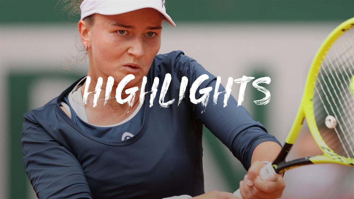 Highlights: Krejcikova downs Svitolina as seeds continue to struggle