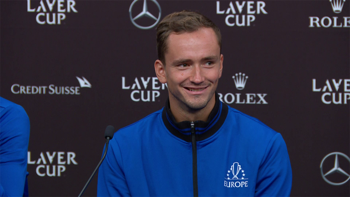 'Novak has to work on the Wi-Fi!' - Medvedev teases Djokovic about internet