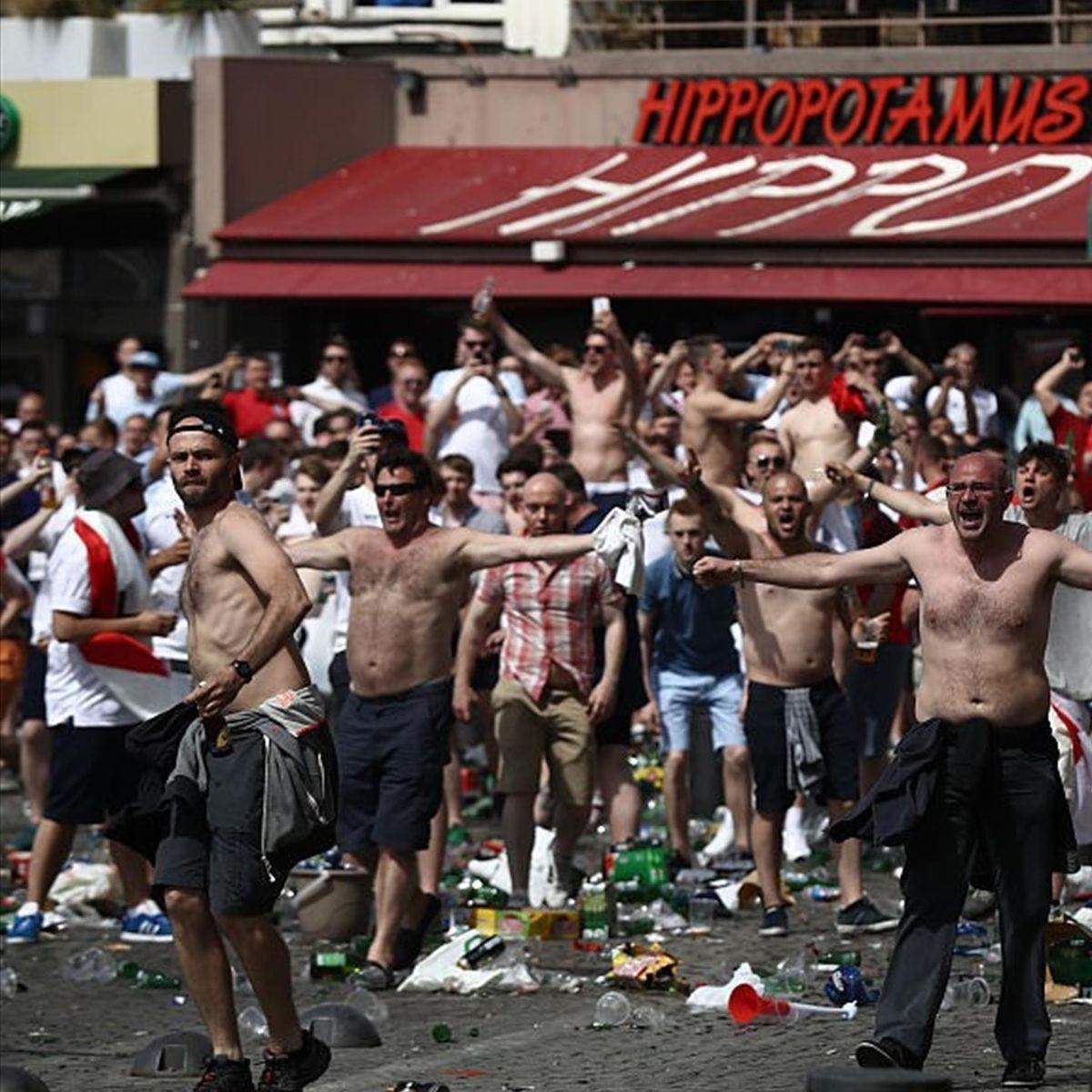 Английские футбольные хулиганы
