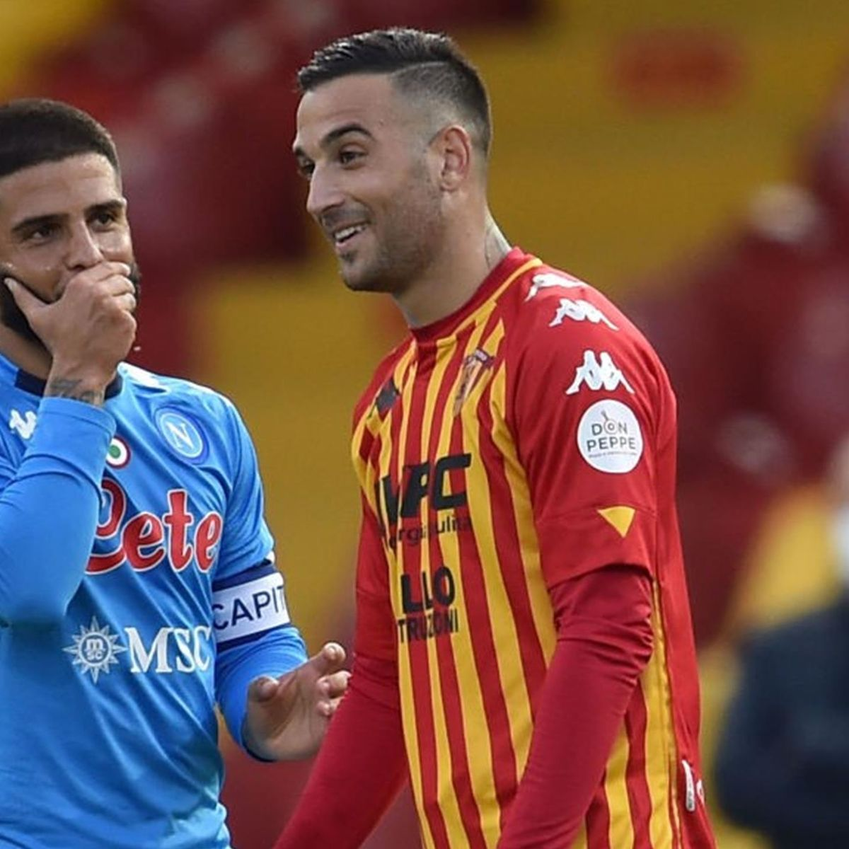 Benevento-Napoli: in gol i fratelli Roberto e Lorenzo Insigne ...