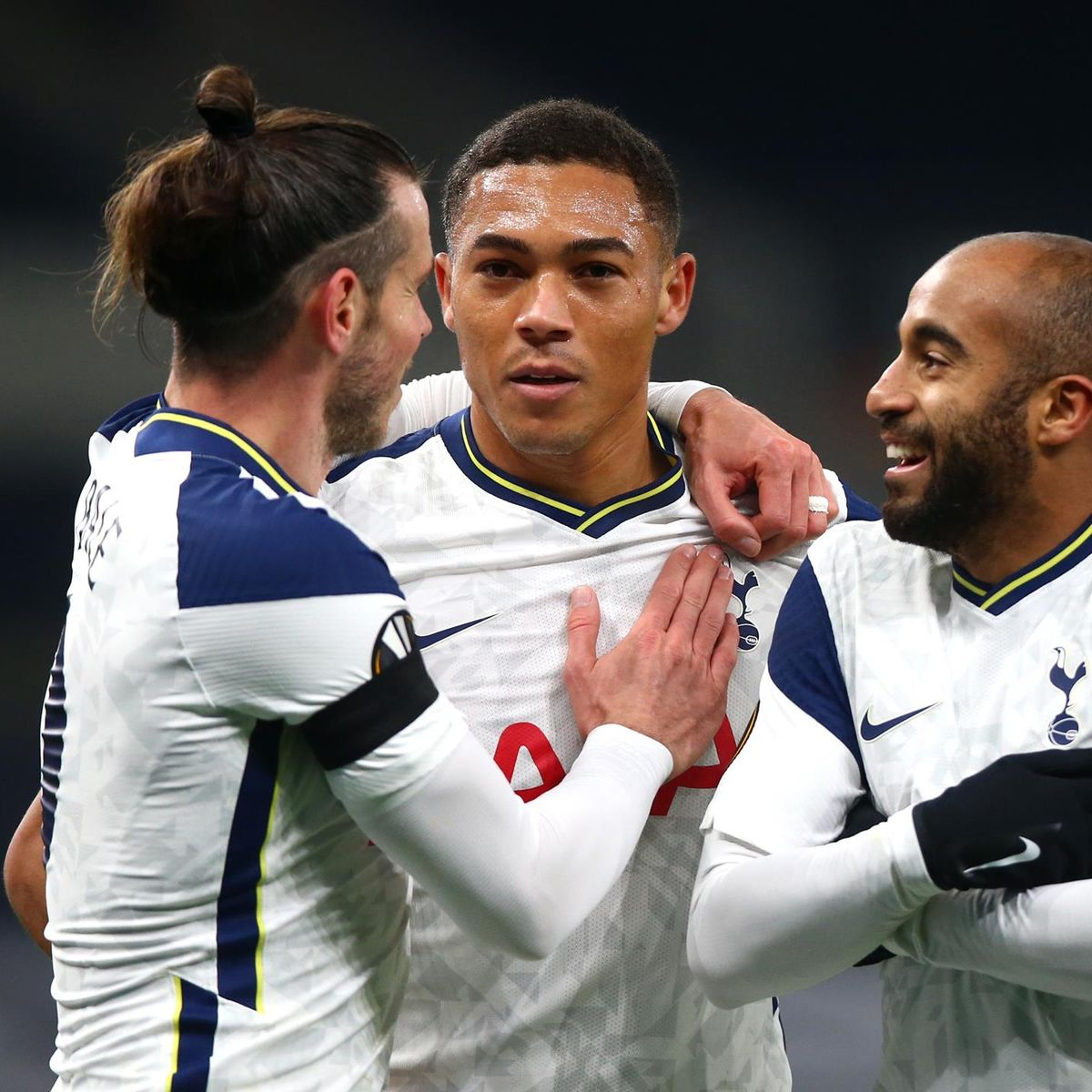 Europa League 2020 Carlos Vinicius Nets Brace As Jose Mourinho S Tottenham Breeze Past Ludogorets Eurosport