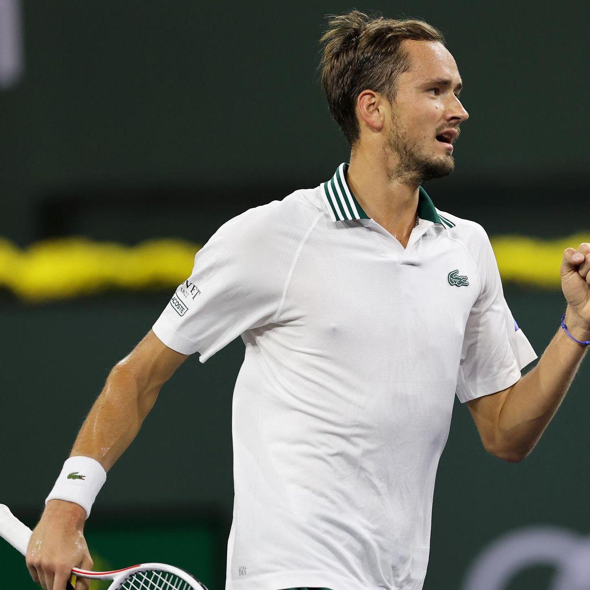 Daniil Medvedev siegt gegen Lokalmatador Mackenzie McDonald in Indian Wells  - Die Highlights - Tennis Video - Eurosport