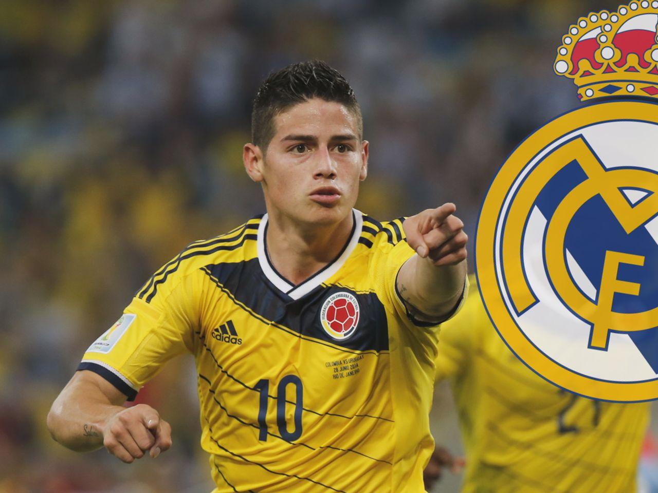 Real Madrid Confirm Signing Of James Rodriguez Eurosport