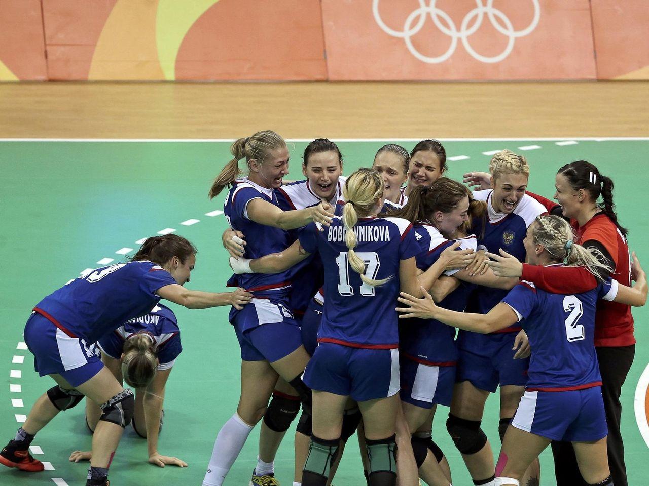 Billet 12.8.2016 Olympia Rio Handball Women/'s Russie-Argentine # f21