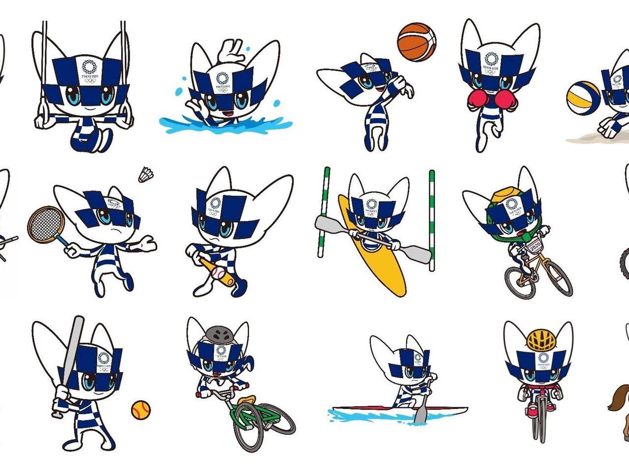 Tokio 2020 Revela A La Mascota Olimpica En Cada Deporte Y Disciplina De Los Juegos Eurosport