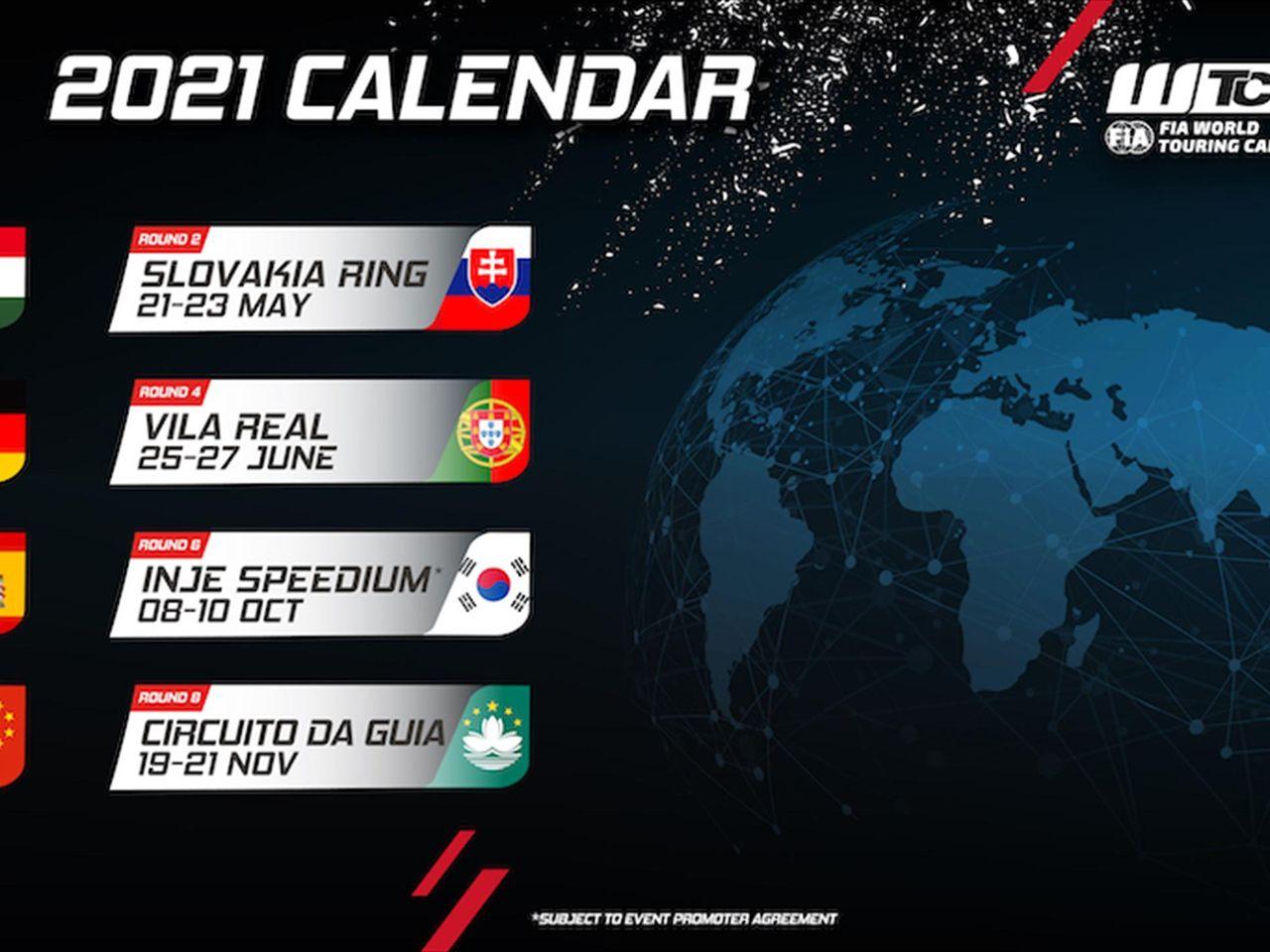 Calendrier Wtcr 2021 Un retour en Asie planifié pour le calendrier WTCR 2021   Eurosport