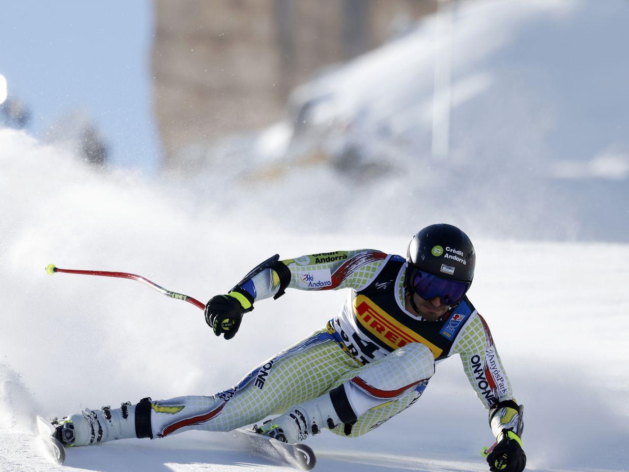Cortina 2021   Prove discesa libera uomini - Audio ambiente - Eurosport
