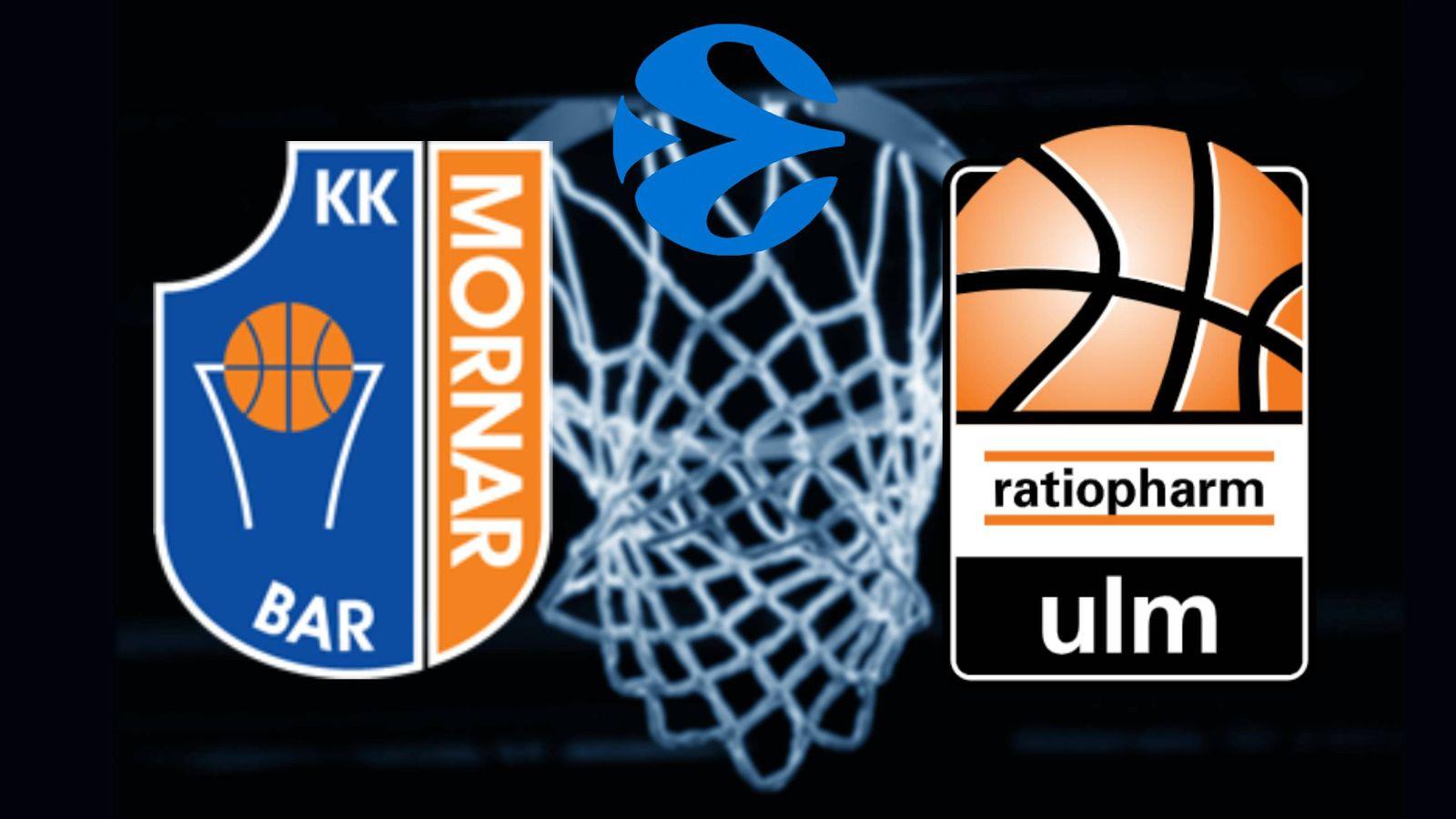 Mornar Bar Ratiopharm Ulm Eurocup | Omgång 6 Eurosport