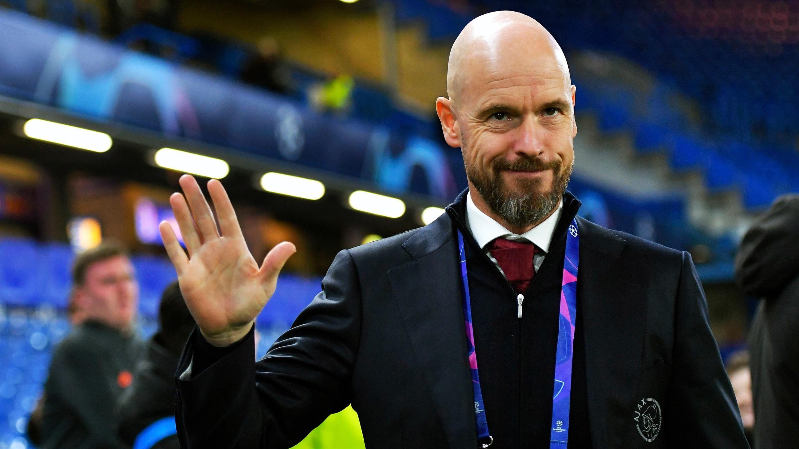 Erik ten Hag: Tottenham return to Ajax boss in manager search with Antonio  Conte move off – Paper Round - Eurosport