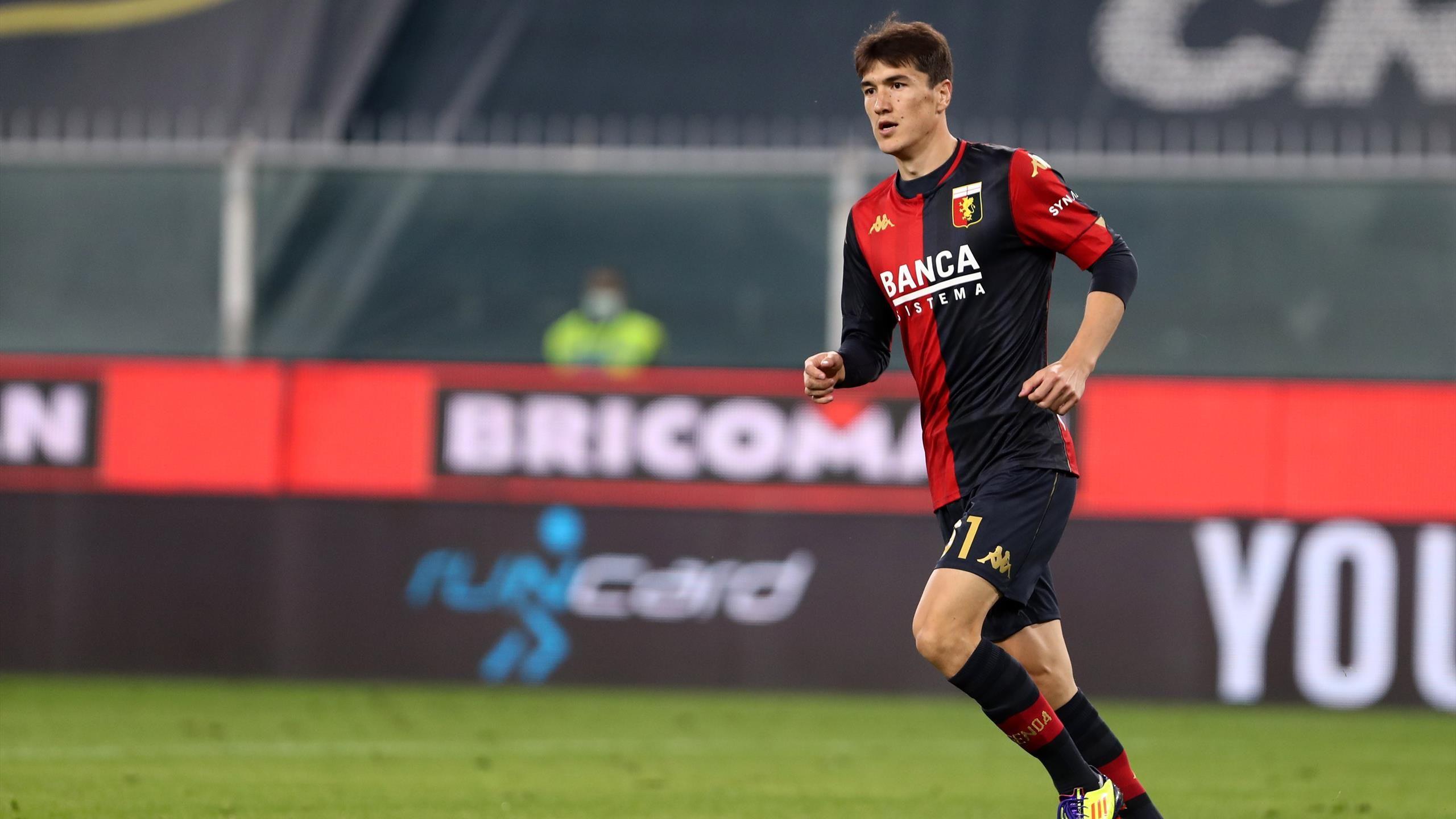 Первый гол Элдора Шомуродова в Серии А за «Дженоа» (видео) - Eurosport