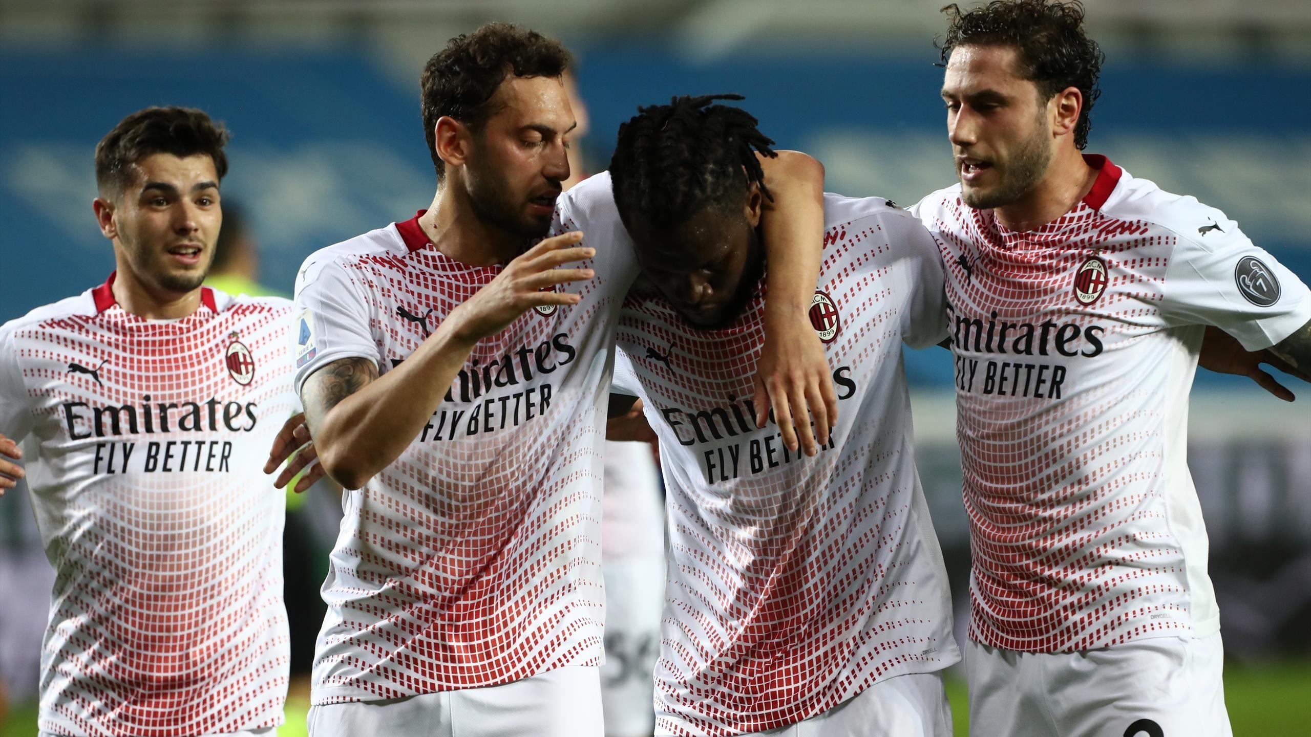 AC Milan secure win at Atalanta thanks to Franck Kessie goals to ...