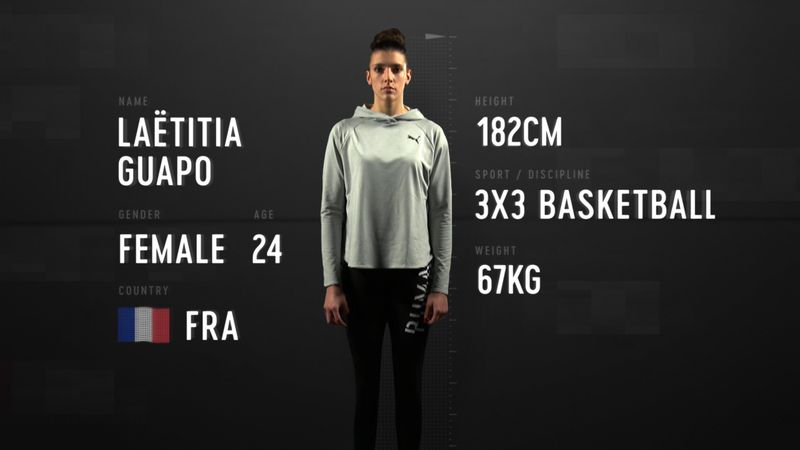 Anatomie einer Basketballspielerin: Laetitia Guapos unglaubliche Ausdauer