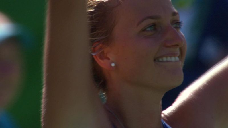 Kvitova remporte le bronze en tennis simples
