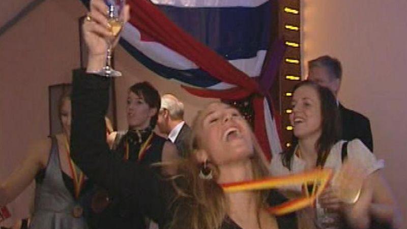 Норвегия встречает своих героев