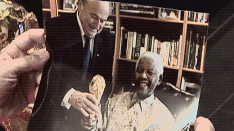 Blatter on African dream