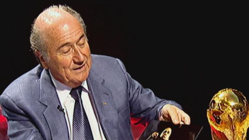 Blatter on meeting political giants