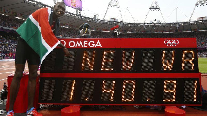 #Returnto2012 – David Rudisha's stunning 800m world record