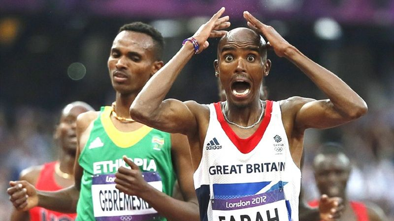 #Returnto2012 - Relive Mo Farah's heroic final laps of 5,000m and 10,000m
