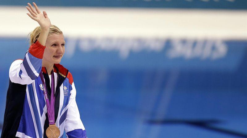 #Returnto2012 – Rebecca Adlington takes second bronze