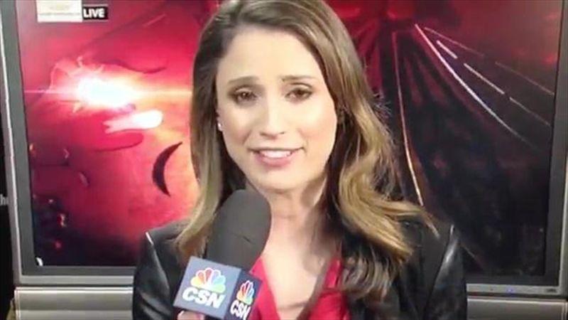 NHL reporter in 'sex' gaffe