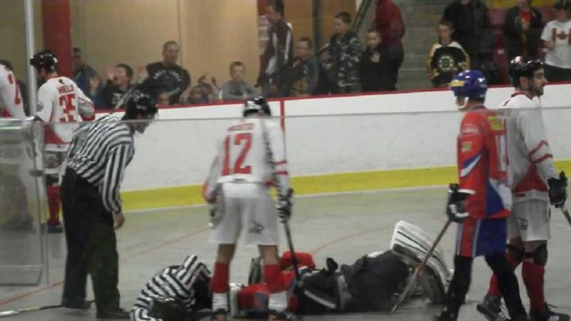 Hockey star chases player, punches him repeatedly