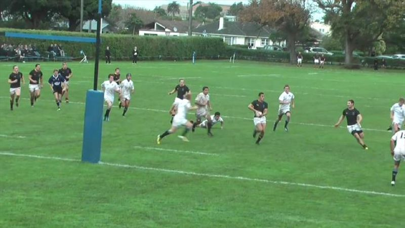 Terrible golpe en un partido de rugby