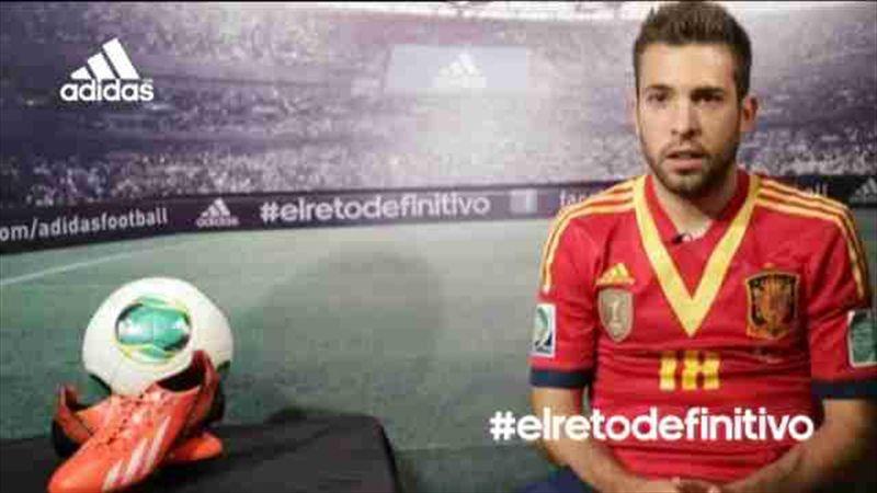 Jordi Alba no se siente titular indiscutible en la Roja