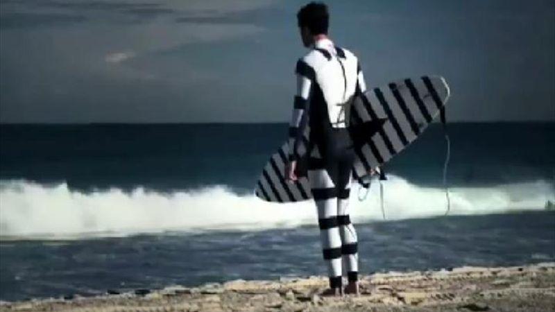 Un traje de neopreno contra los tiburones