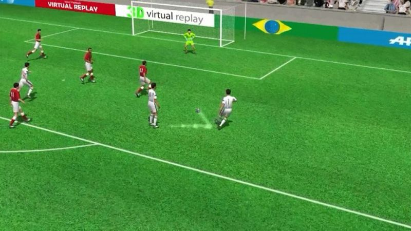3D goal: Di Maria's late winner