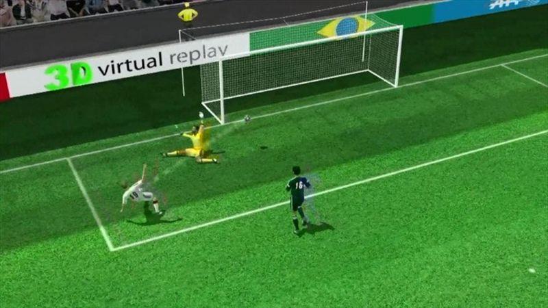 Goetze amazing World Cup winning goal in 3D