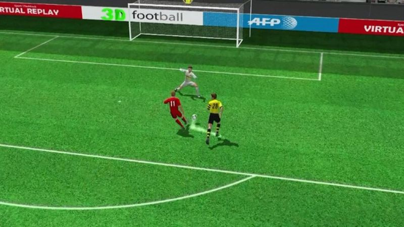 3D goal: Kiessling