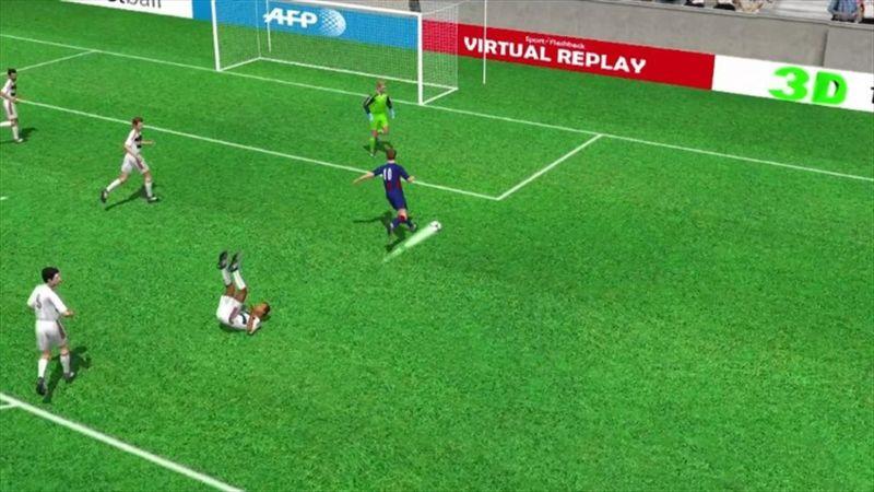 Messi'nin Bayern'e attığı ikinci gol