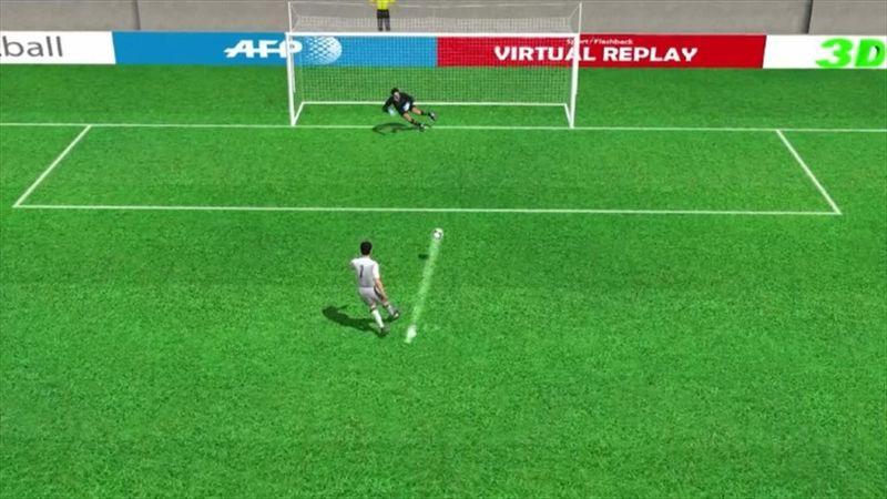 Ronaldo'nun Juventus'a attığı penaltı golü: 1-0