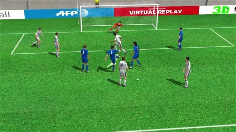 Alvaro Morata'nın Real Madrid'e attığı gol: 1-1