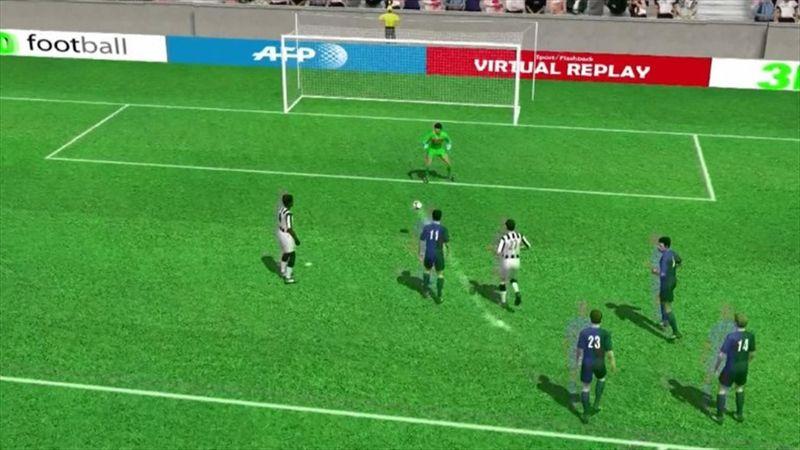 Vídeos 3D: Sturaro volvió a adelantar a la Juventus (2-1)