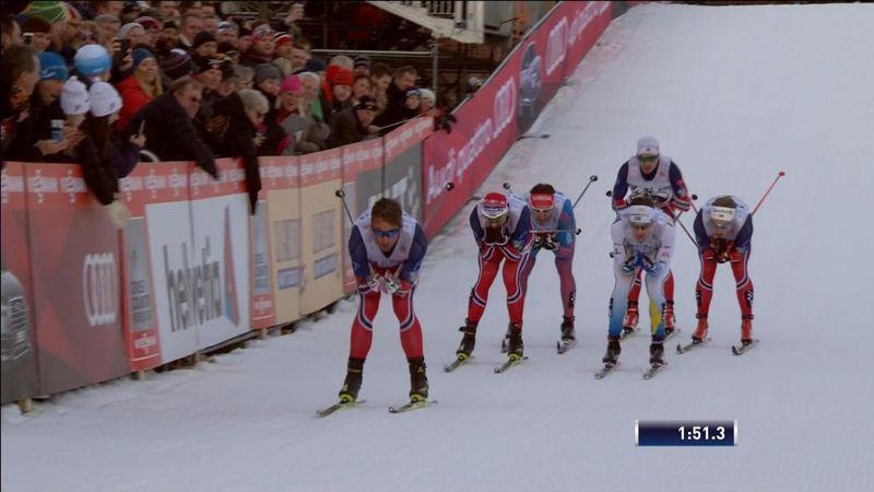 Northug siegt beim Sprint in Drammen
